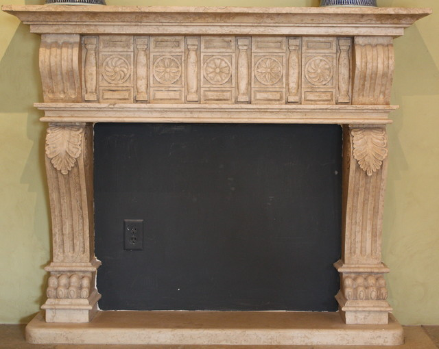Custom hand carved fireplace indoor fireplaces atlanta