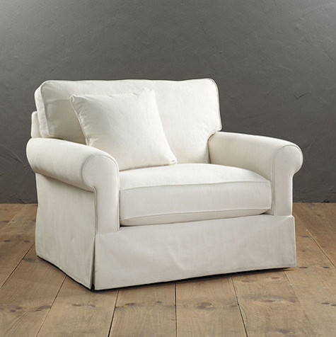 Baldwin Upholstered Club Chair Traditional Armchairs