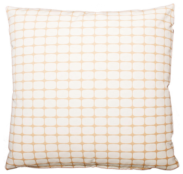 Mod Sand Pillow, 22x22 contemporary-decorative-pillows
