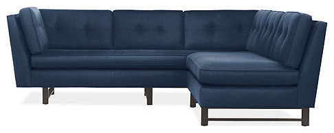 Clarke L-Shaped Sectional modern sectional sofas