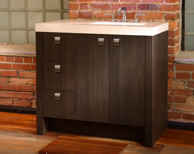 Nuvo collection fresco contemporary atlanta by the furniture guild for Furniture guild bathroom vanities