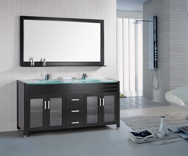 Contemporary Bathroom Vanities - contemporary - bathroom vanities