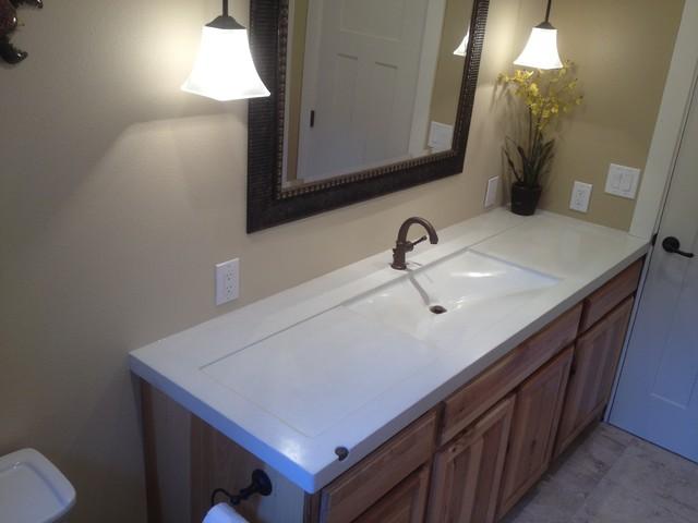 Vanity Side Splash : Quot humboldt sink edge in off white contemporary