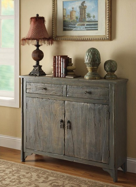 Country Style Accent Cabinet - Contemporary - Accent ...