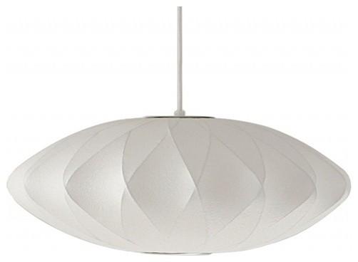 Saucer Criss Cross Nelson Lamp modern-pendant-lighting