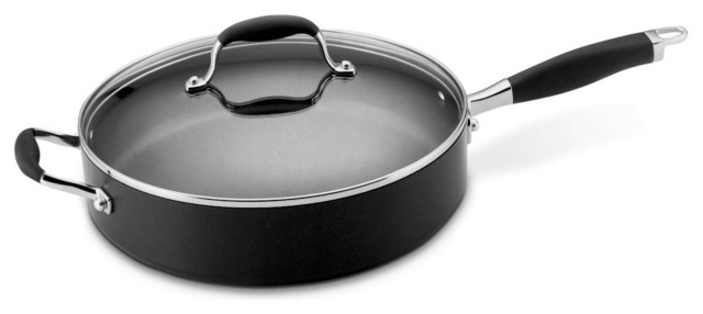 Anolon Advanced 5 Quart Hard Anodized Nonstick Saute Pan modern-saute-pans