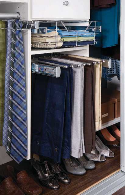 Pull-out Pant Rack closet-storage