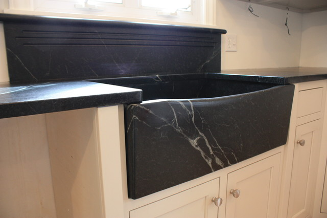 Soapstone Sinks midcentury kitchen sinks