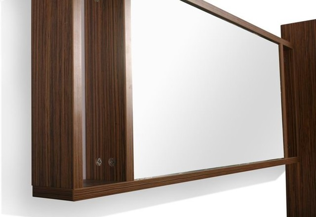 Bojano 900mm mirror with shelves modern-bathroom-mirrors