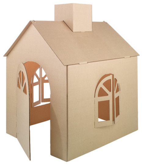 Cardboard Playhouse modern kids toys