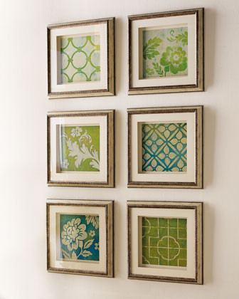 Lattice Prints traditional artwork