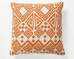 Villa Home Global Bazaar Tangier Pillow, Orange modern-decorative-pillows