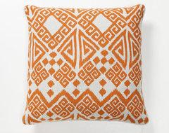 Villa Home Global Bazaar Tangier Pillow, Orange modern-pillows