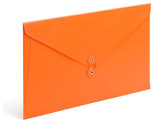 Soft Cover Folio, Orange modern-desk-accessories