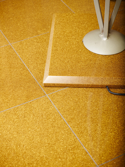 Gold Glitter contemporary-floor-tiles