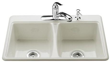 Deerfield Self Rimming Kitchen Sink modern-bath-products