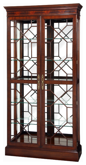 Stickley Display Cabinet 4773 traditional-furniture