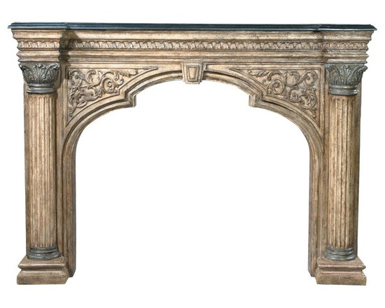 Ambella Home - New Ambella Home Fireplace Surround Arched - Product Details