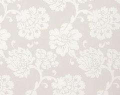 Albero Floreale, Grey contemporary-wallpaper