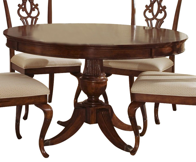 Liberty furniture ansley manor 52 inch round dining table for Round table 52 nordenham