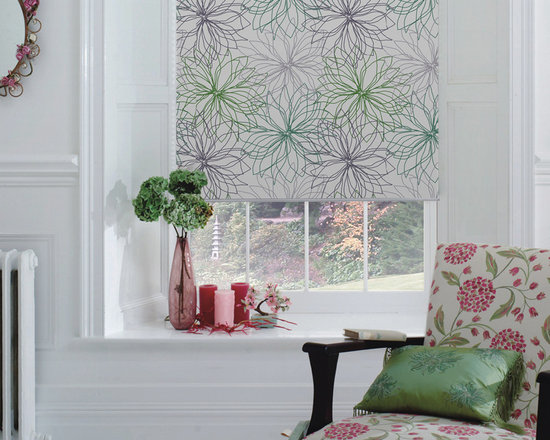 Architectural Blackout Roller Shades -
