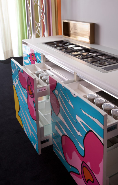 Enrico coveri living designs by aster cucine modern for Aster cucine kitchen cabinets