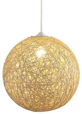 Zuo Modern Continuity Ceiling Lamp Beige modern-pendant-lighting