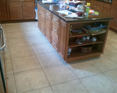 Rebecca Koger - you asked about black counter tops showing finger prints. Yes they will. Dark ...