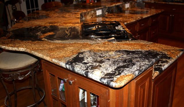 Magma Black Granite : Magma black granite