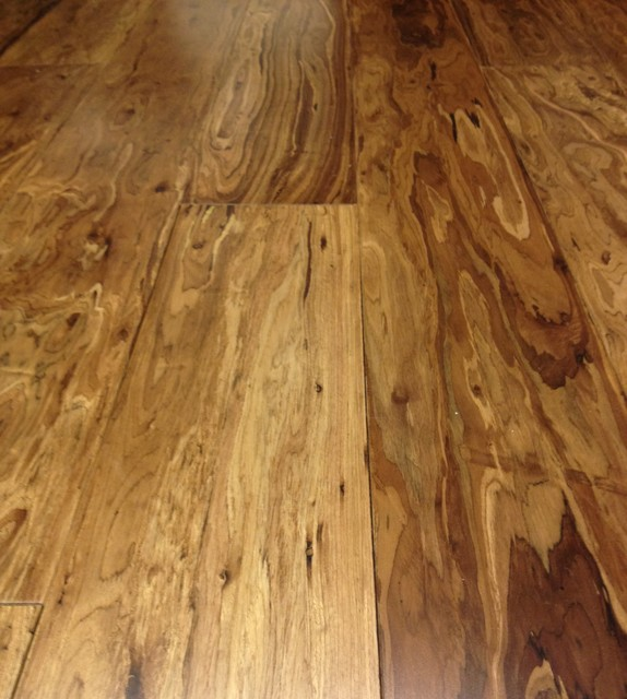 Eucalyptus wood floor - eclectic - wood flooring - orange county