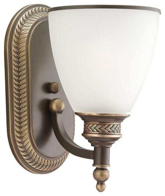 Sea Gull Lighting-41350-708-Laurel Leaf - One Light Wall/Bath traditional-bathroom-lighting-and-vanity-lighting