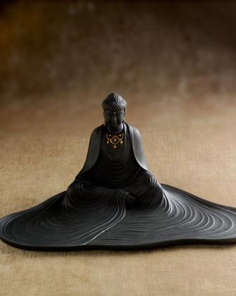 L'Objet Buddha Desk Tray traditional-desk-accessories