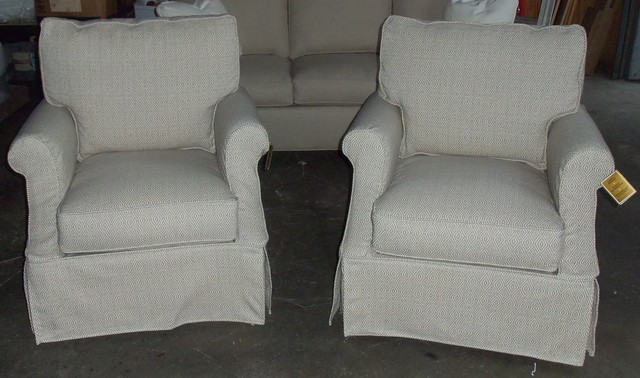 Robin Bruce Beatrix Slipcover Chair living-room-chairs
