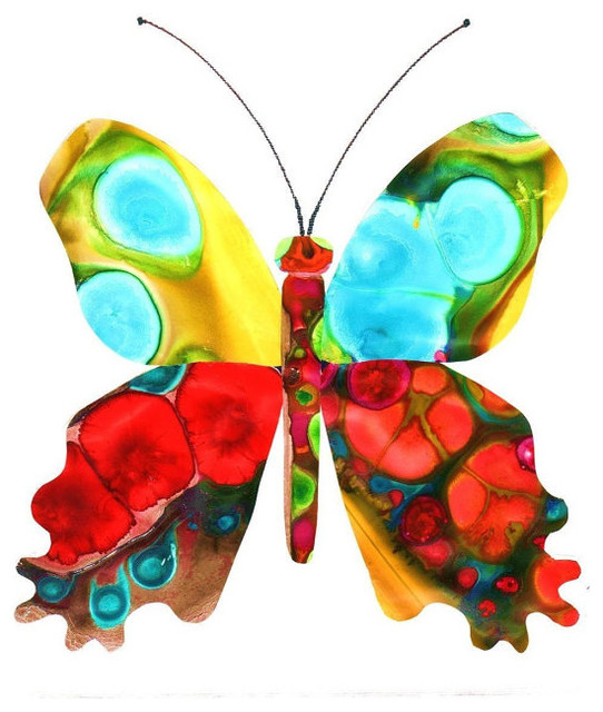 Butterfly Art Print By Kathy Panton eclectic-artwork