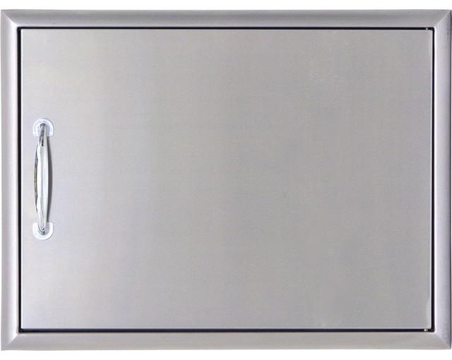 Blaze 28 inch single outdoor kitchen access door for 28 inch exterior door