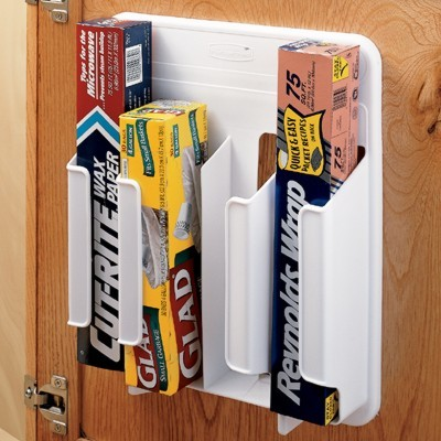 Wrap 'n Bag Organizer contemporary cabinet and drawer organizers