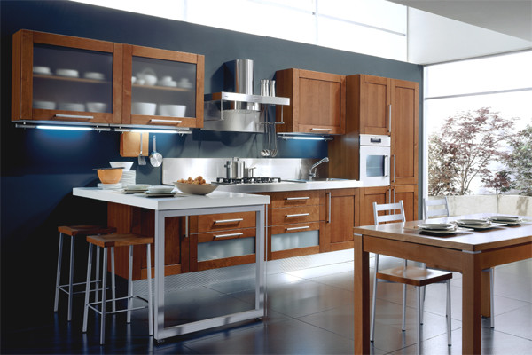 TECA Kitchen Collection - ARAN Cucine (Italy) contemporary-kitchen-cabinetry