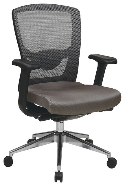 Pro-Line II ProGrid High Back Office Chair with Adjustable Arms traditional-office-chairs