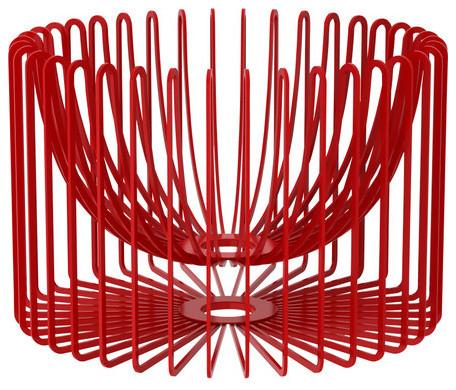 Trådig Bowl, Red modern-serveware