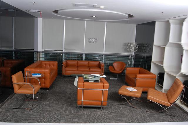 Interior Lc2 Sofa Noguchi Coffee Table Swan Chair