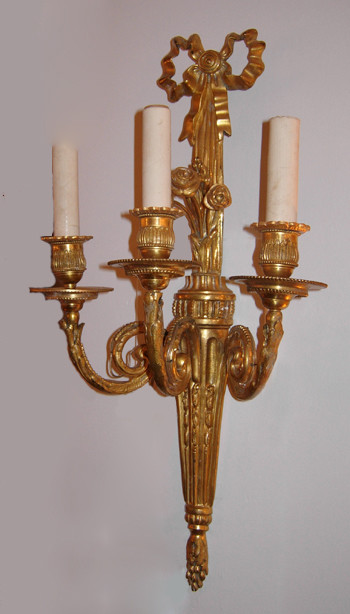 Gilded Brass Sconces - Traditional - Wall Sconces - other metro - by The Brass Knob