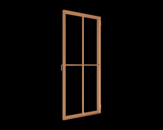 Renaissance Solid Bronze Window - Renaissance solid bronze casement window exterior view with narrow sightlines replicating old world craftmanship.  http://solidbronzewindows.com/