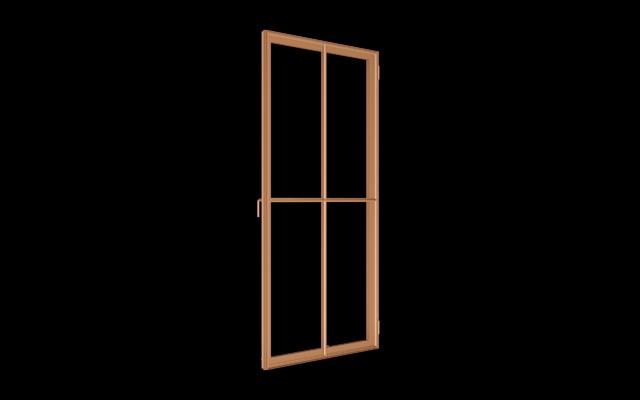 Renaissance Solid Bronze Window transitional-windows