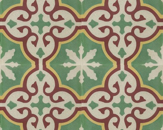 Granada (cement) Tile Sofia 55 - Cement tiles: Granada Tile / Photograph: Granada Tile