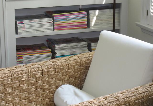 Wannemacher Designs modern-living-room