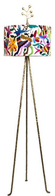 Otomi Floor Lamp by Jane Gray for Stray Dog Designs eclectic-floor-lamps