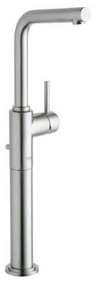 Grohe 32 655 EN1 Atrio 7 Degree Deck Mount Vessel Faucet in Infinity Brushed Nic contemporary bathroom faucets