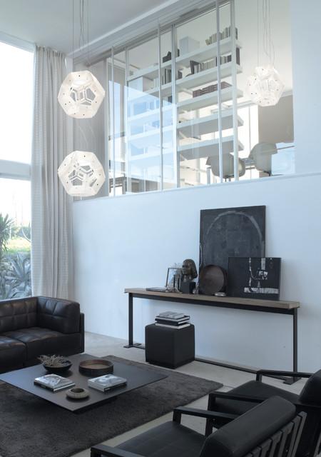 Livingroom spaces contemporary-pendant-lighting