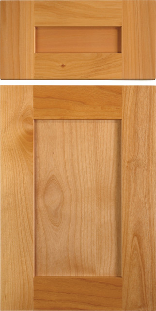 Shaker Style Cabinet Doors in Alder - traditional - kitchen ...