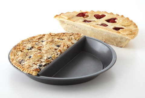 Split Decision Pie Pan modern pie and tart pans